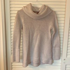 Women's Terrycloth Cowl neck Sweater